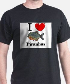 I Love Piranhas T-Shirt