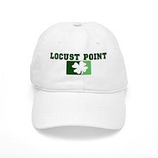 LOCUST POINT Irish (green) Baseball Cap