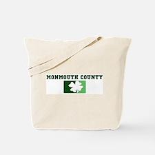 MONMOUTH COUNTY Irish (green) Tote Bag