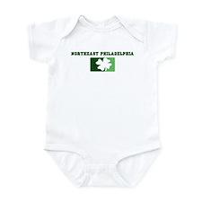 NORTHEAST PHILADELPHIA Irish Infant Bodysuit