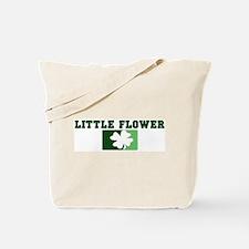 LITTLE FLOWER Irish (green) Tote Bag