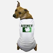 QUINCY Irish (green) Dog T-Shirt