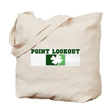 POINT LOOKOUT Irish (green) Tote Bag
