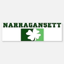 NARRAGANSETT Irish (green) Bumper Bumper Bumper Sticker