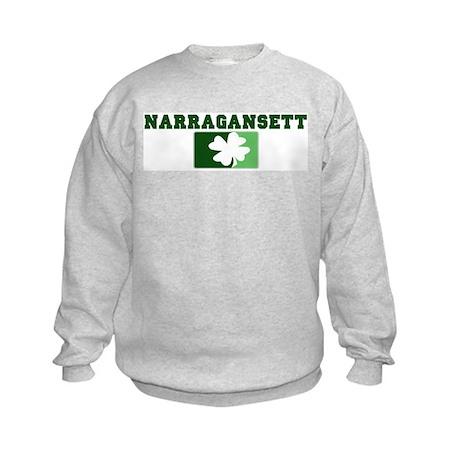 NARRAGANSETT Irish (green) Kids Sweatshirt