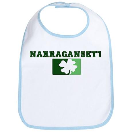 NARRAGANSETT Irish (green) Bib