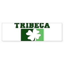TRIBECA Irish (green) Bumper Bumper Sticker
