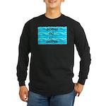 Divers Do It Deeper Long Sleeve Dark T-Shirt