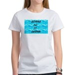 Divers Do It Deeper Women's T-Shirt