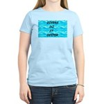 Divers Do It Deeper Women's Pink T-Shirt