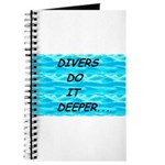 Divers Do It Deeper Journal