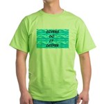 Divers Do It Deeper Green T-Shirt