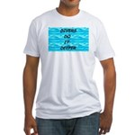 Divers Do It Deeper Fitted T-Shirt