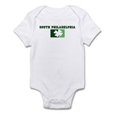 SOUTH PHILADELPHIA Irish (gre Infant Bodysuit
