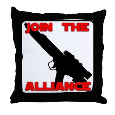 Join the Alliance Throw Pillow