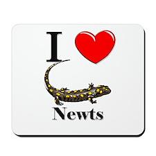 I Love Narwhals Mousepad