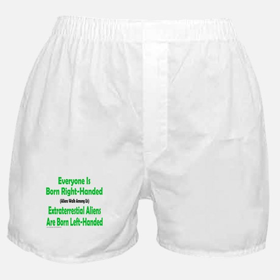 EVERYONE IS BORN RIGHT-HANDED Boxer Shorts