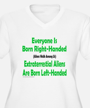 EVERYONE IS BORN RIGHT-HANDED T-Shirt