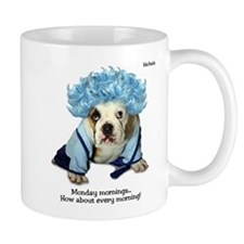 Monday Morning Bulldog Mug