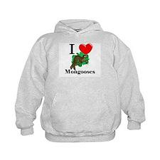 I Love Mongooses Hoodie