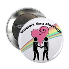 Support Gay Marriage Button