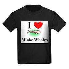 I Love Minke Whales T