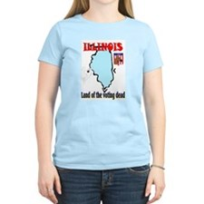 Funny Illinois state motto T-Shirt