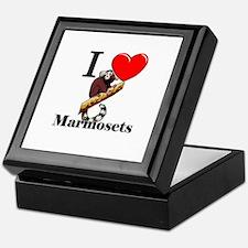 I Love Marmosets Keepsake Box