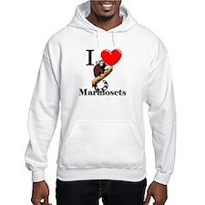 I Love Marmosets Hoodie