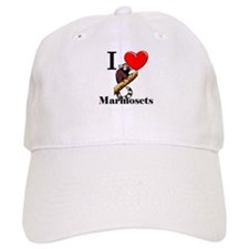 I Love Marmosets Baseball Cap