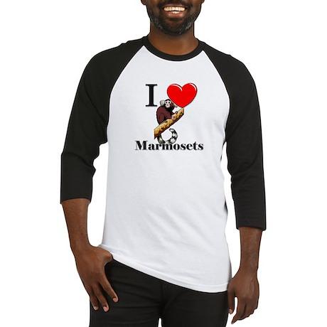 I Love Marmosets Baseball Jersey