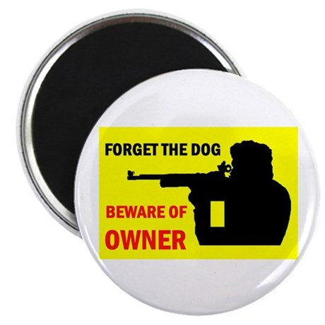 "BEWARE OF OWNER 2.25"" Magnet (10 pack)"