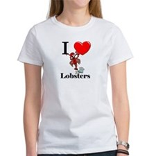 I Love Lobsters Tee