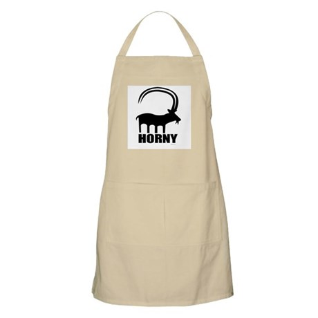 Horny ~ BBQ Apron