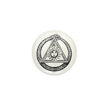 Scottish Rite Mason Mini Button