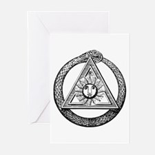 Scottish Rite Mason Greeting Cards (Pk of 10)
