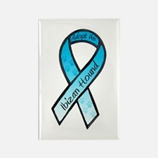Ibizan Ribbon B Rectangle Magnet (100 pack)