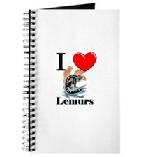 I Love Lemurs Journal