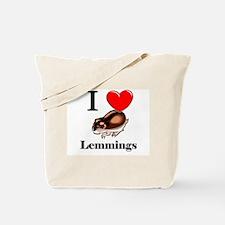 I Love Lemmings Tote Bag