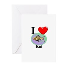 I Love Koi Greeting Cards (Pk of 10)