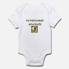 Military Mom Infant Bodysuit