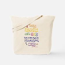 GAY Vaccination Day Tote Bag