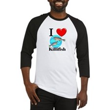 I Love Killifish Baseball Jersey