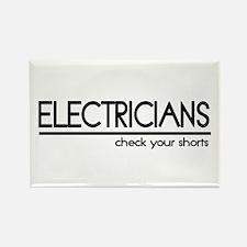 Electrician Joke Rectangle Magnet