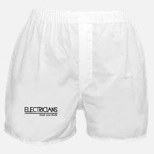 Electrician Joke Boxer Shorts