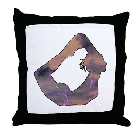 Grab Your Ankles Throw Pillow