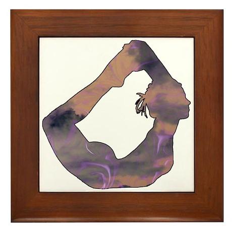 Grab Your Ankles Framed Tile