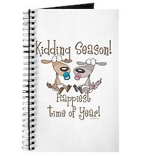 Goat Kidding Season Journal