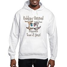 Goat Kidding Season Hoodie