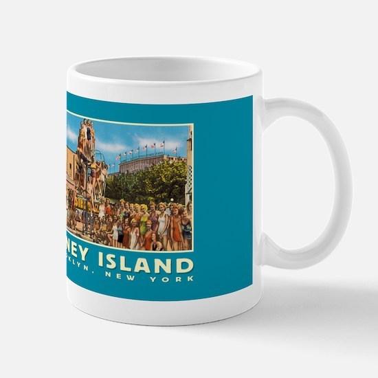 Coney Island Bathing Beauties Coffee Mug